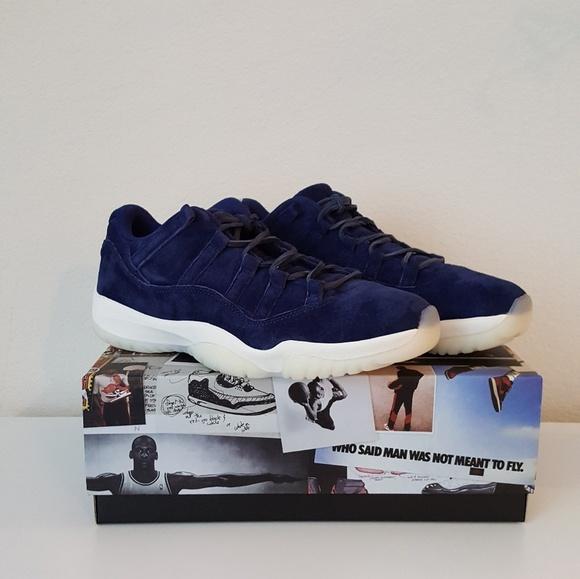 Nike Shoes Air Jordan 11 Blue Retro Low Poshmark